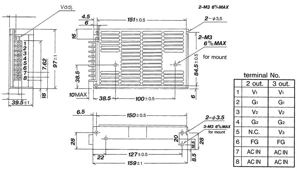 PBIC-J  50W